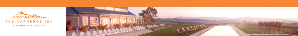 The Carneros Inn - Welcome